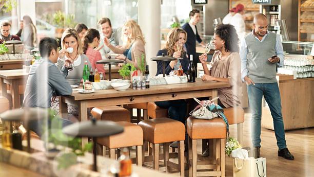 Vapiano Den Haag Restaurantzaal