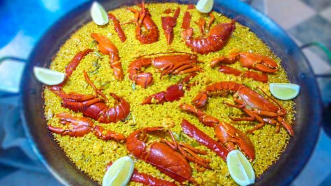 Paella de bogavante - Casa Guillermo, Benidorm