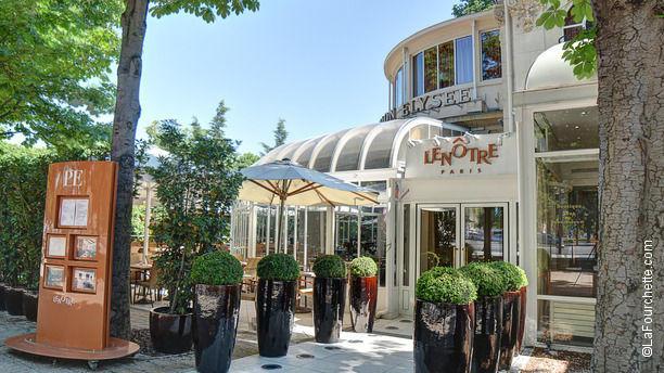 Pavillon Elysée Café Lenôtre Bienvenue au restaurant Pavillon Elysée Café Lenôtre