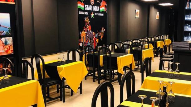 Star India Sala del restaurante