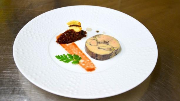 La Closerie de Kerdrain Foie gras de canard et chutent de figues