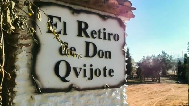 El Retiro de Don Quijote Detalle entrada