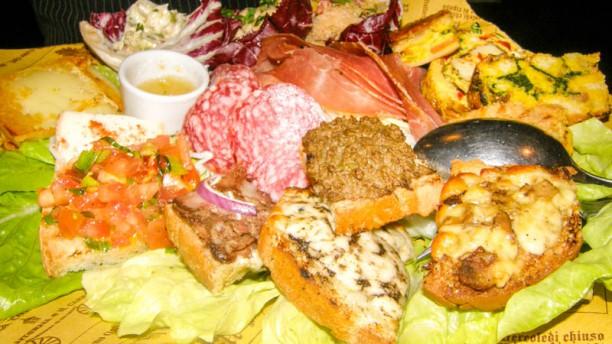 La Ghianda gran piatto del pellegrino