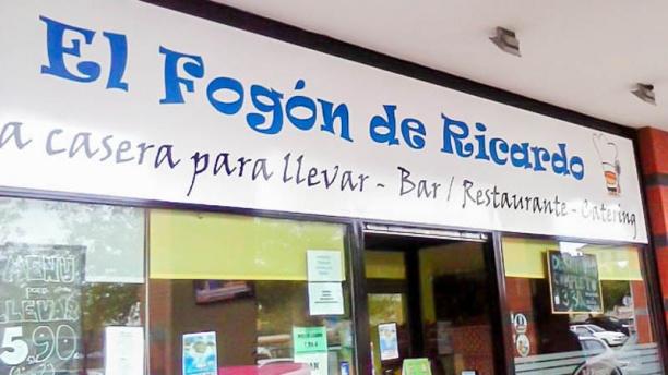 El Fogón de Ricardo Vista entrada