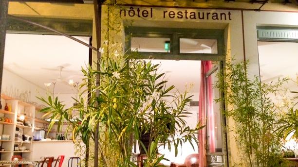 L'Atelier L'entrée du restaurant
