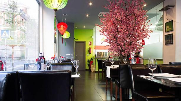 Restaurante Vietnamita - Mr. Vu Vista sala