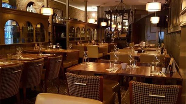 Bistro Santé Het restaurant