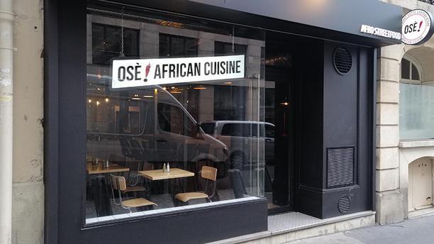 Osè African Cuisine St-Lazare Vue extérieure du restaurant