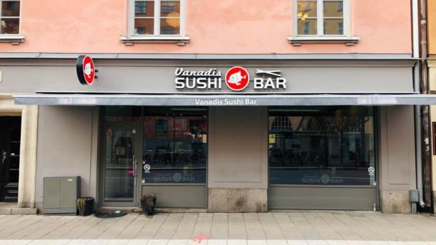 Vanadis Sushi Ingång
