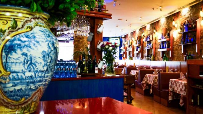 sala do restaurante - Il Giardinetto, Lisboa