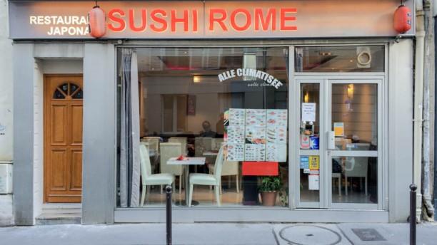 Sushi Rome Devanture