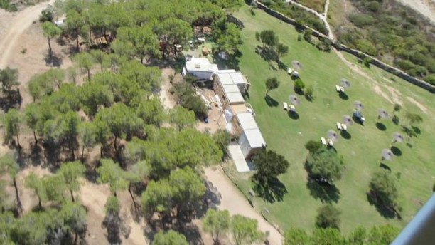I Giardini di Lu Impostu Vista aerea del giardino