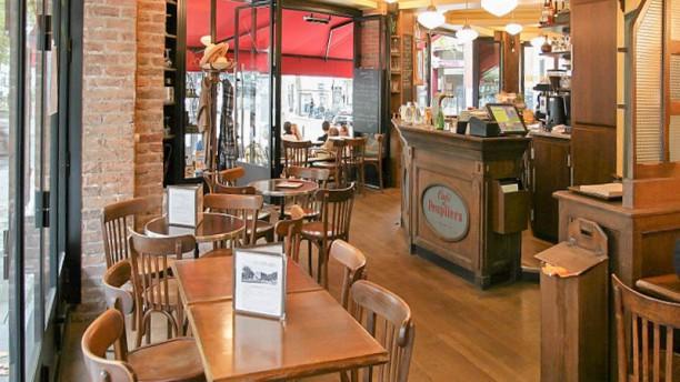 Cafe des Peupliers Vue de la salle