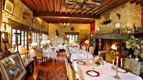 restaurant - Auberge de l'Etang Bleu - Beaussac