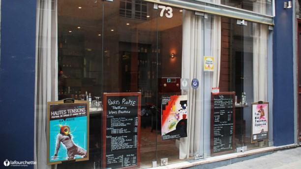 Paris Rome Bienvenue au restaurant Paris Rome