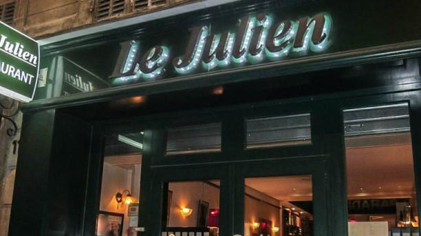 Le Julien Façade du restaurant