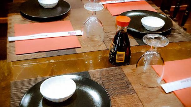 Sibelius Sushi detalle mesa