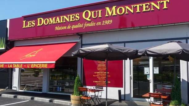 Les domaines qui montent in eysines menu openingstijden for Restaurant eysines