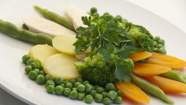 Costelaria Pedra Kent RW Panache de legumes: ervilha, vagem, cenoura,batata,palmito e brocolis na manteiga