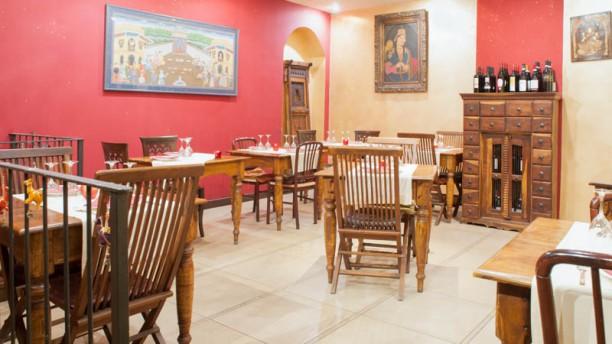 Shri Ganesh Sala del ristorante