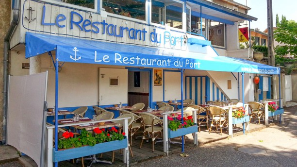 Le Restaurant du Port terrasse