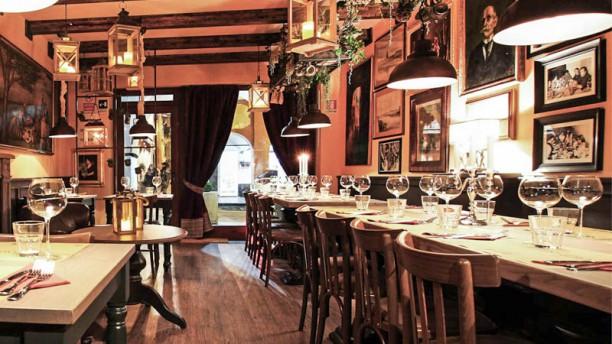 i' Toscano - Antica Osteria e Vineria Sala del ristorante