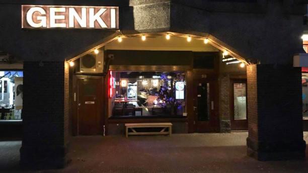 Genki Cafe Ingang