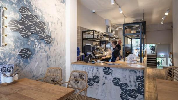 Meat&Greek Haarlemmerstraat Het restaurant