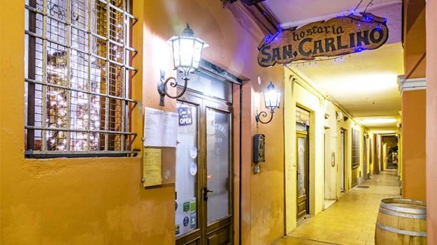 Hostaria San Carlino Entrata
