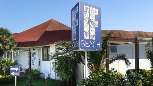 IF Beach Isola Fiorita Il ristorante
