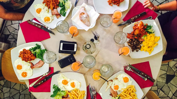 La Pizzeria di Mastrociccia English breakfast