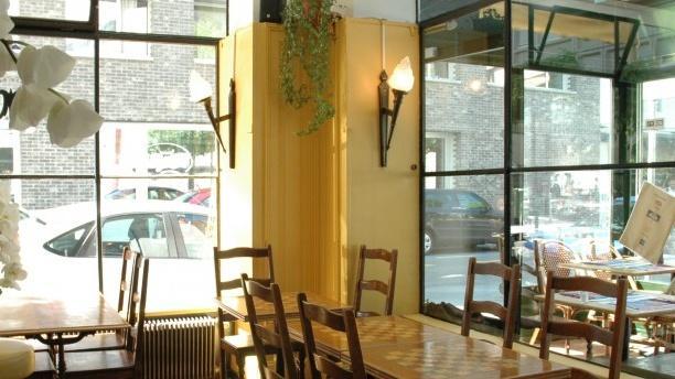 Café des Forces Motrices Aperçu d'une table