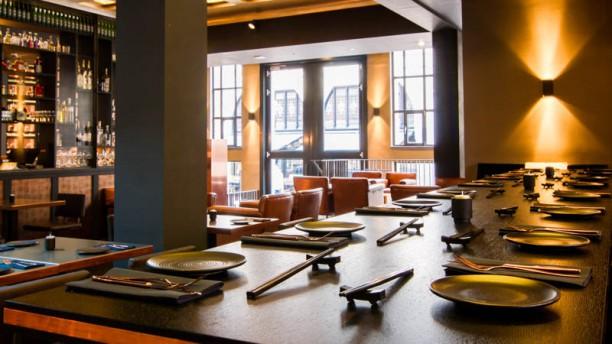 The Gin Sum Club restaurantzaal