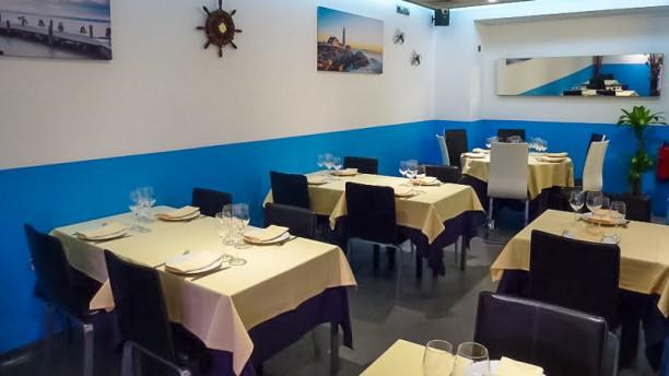 El Faro Sala del restaurante