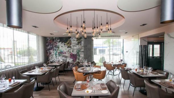 Bib Gourmand Restaurant Magnific Vue de la salle