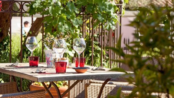 La Table de L'Oustau Terrasse