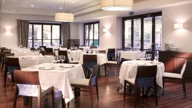 Restaurante Parador de Granada Vista sala