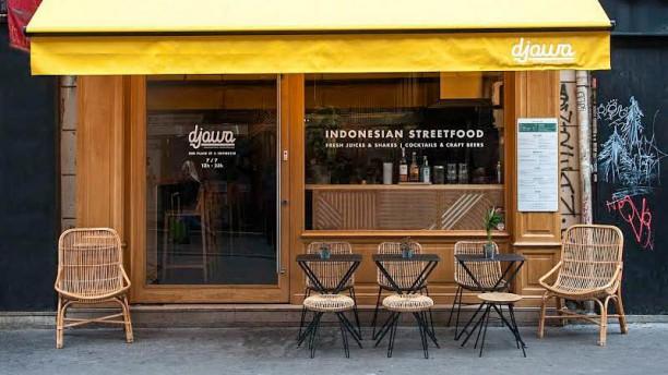Djawa Republique Façade du restaurant