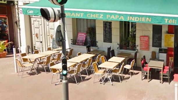 Chez Papa Indien Terrasse