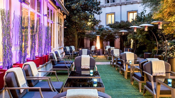 Le Barisien - Hôtel Renaissance Le Parc Trocadéro Terrasse