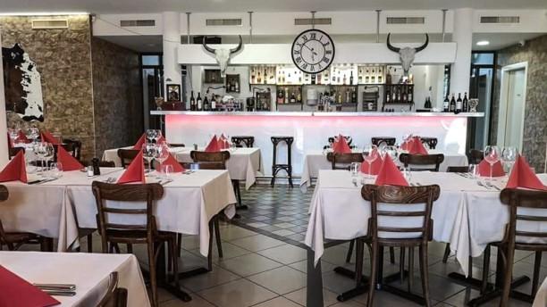 Le Chalet du Désert Salle du restaurant