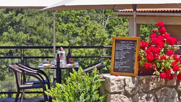 Restaurant Des 2 Sorru Terrasse
