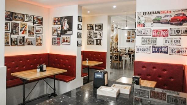 Il Capriccio Pizzeria Ristorante Vista sala