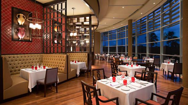 Restaurante Reserva Vista da sala