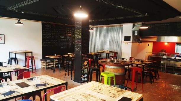 Le Bar Buck La salle ambiance industrielle