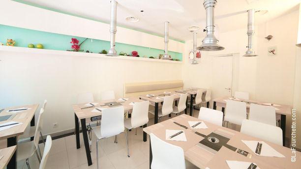 Muic Sushi salle du restaurant