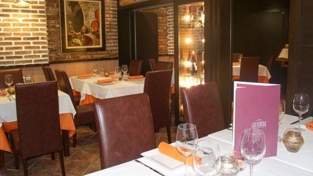 Las Ventas Interior del restaurante