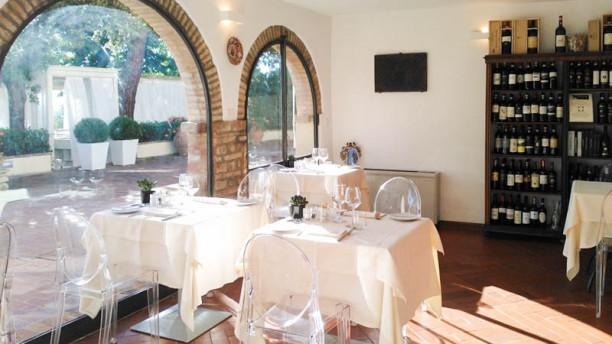 Villa I Barronci - In Vino Veritas Sala del ristorante