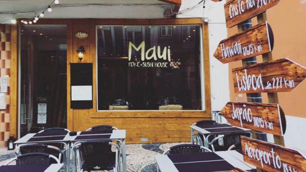 Maui Restaurante Vista da sala