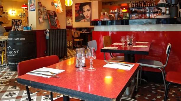 Gladines Batignolles Salle du restaurant
